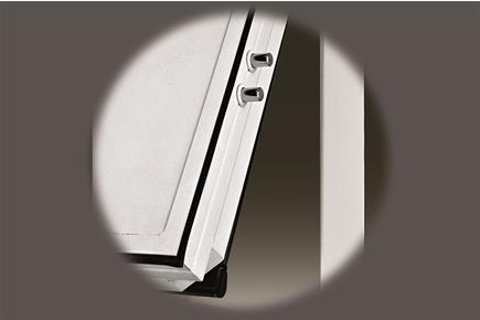 Portoni blindati porte garage castiglieri showroom - Guarnizione porta blindata ...