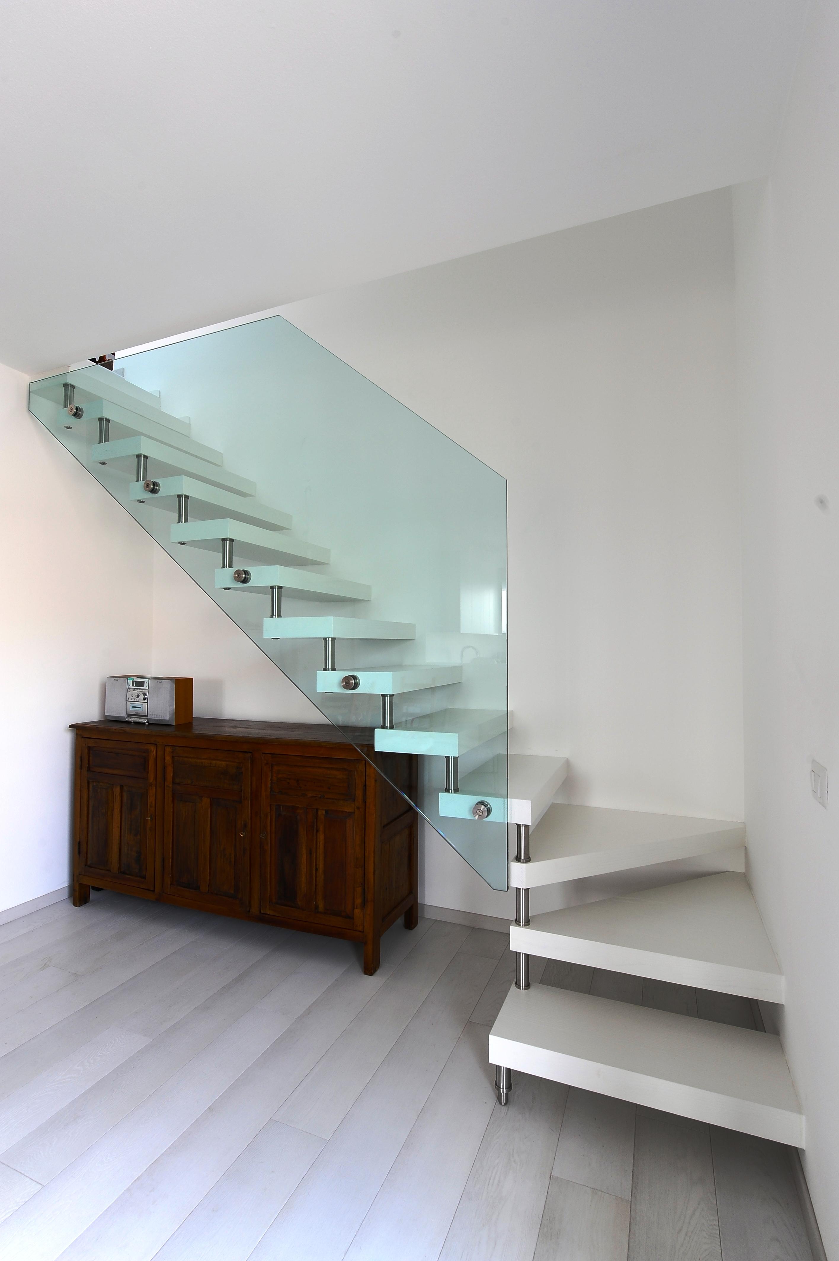 Scale da interno creare su misura castiglieri showroom - Scale interno casa ...