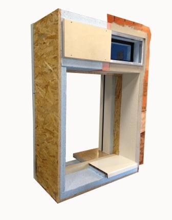 Monoblocco castiglieri showroom - Finestre monoblocco in legno ...
